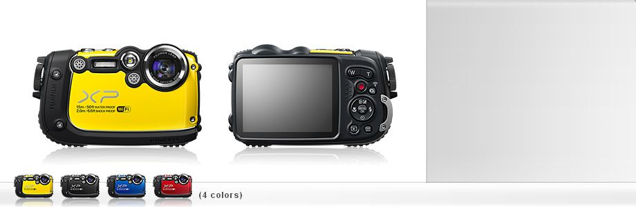 Rugged Outdoor Compact Camera