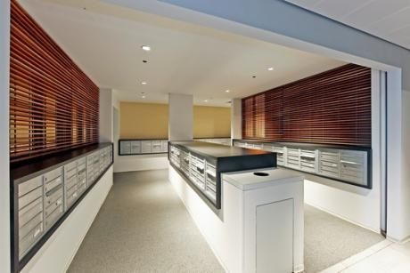 Apartment lobby mailboxes google search mail room - Commercial van interiors san diego ...