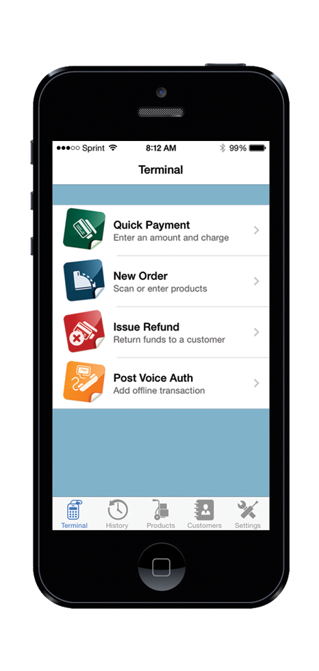 Accepting credit cards through your iPhone is simple and