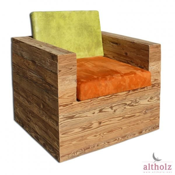 Designermöbel aus altem holz  coole Idee: aus Altholz genial schicke + moderne Sachen machen ...