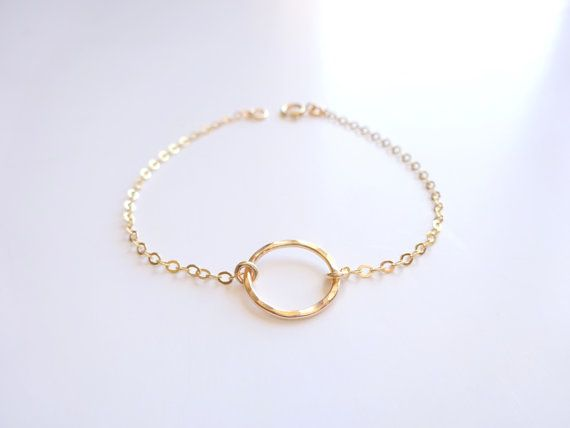 filled drop dainty au anklet listing il gold