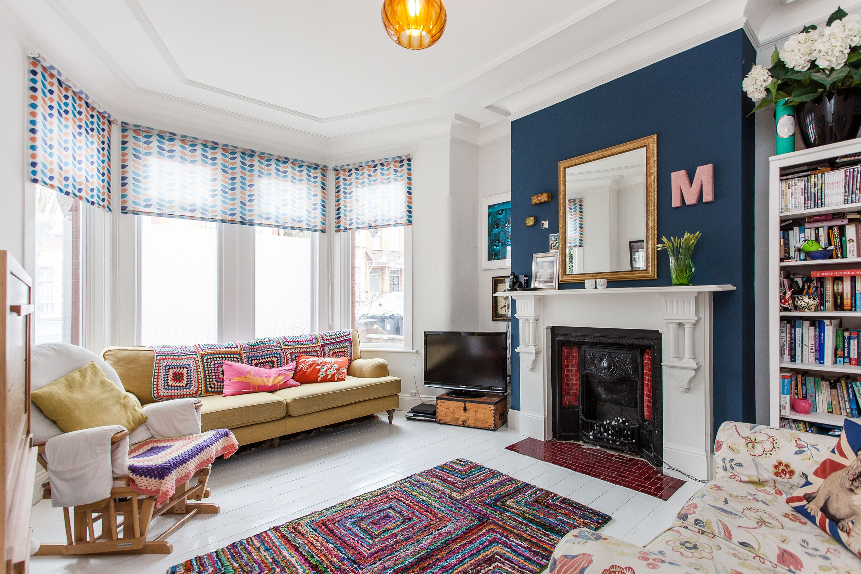 Monday Blues Cp Creative Living Room In 2019 Feature