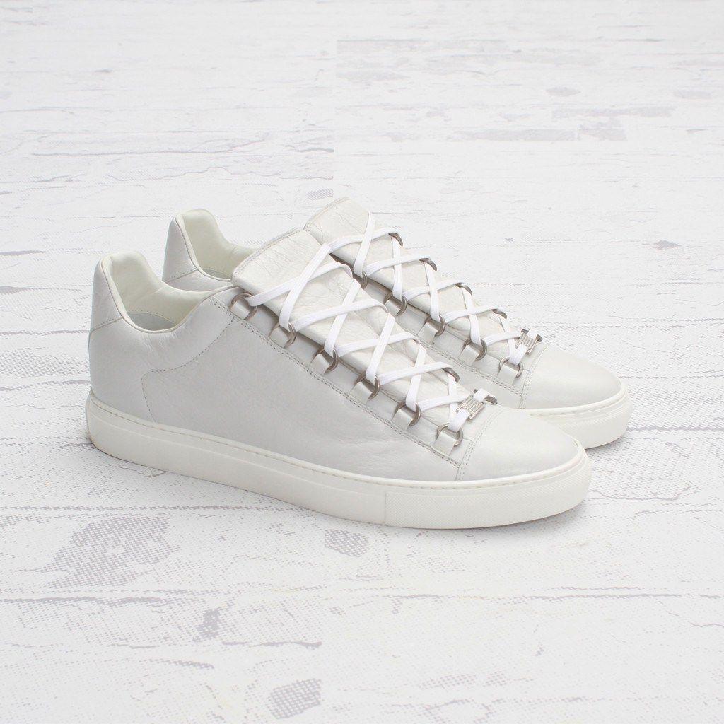 balenciaga arena low top sneaker extra blanc souf pinterest balenciaga arena. Black Bedroom Furniture Sets. Home Design Ideas