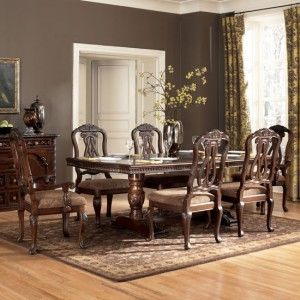 North Shore Formal Dining Room Set By Millennium By Ashley Furniture D553 For Elegant Dining Room Furniture Dining Room Furniture Sets Formal Dining Room Sets