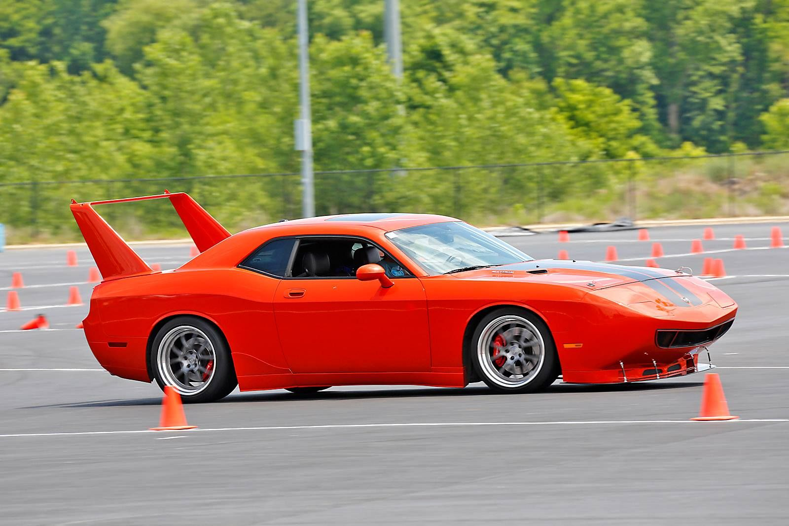 Randy S Dodge Challenger Srt8 Is Equipped With The