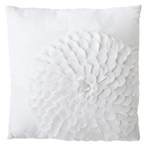 Target Mobile Site Xhilaration Flower Decorative Pillow White