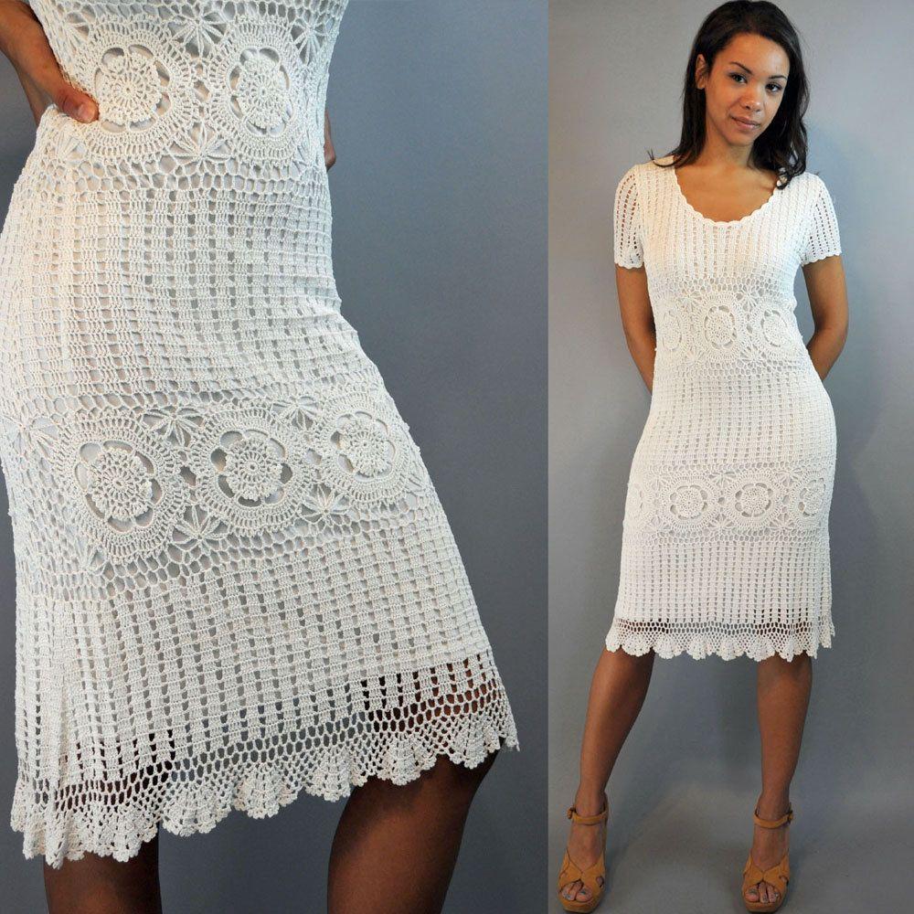 39+ White crochet dress information