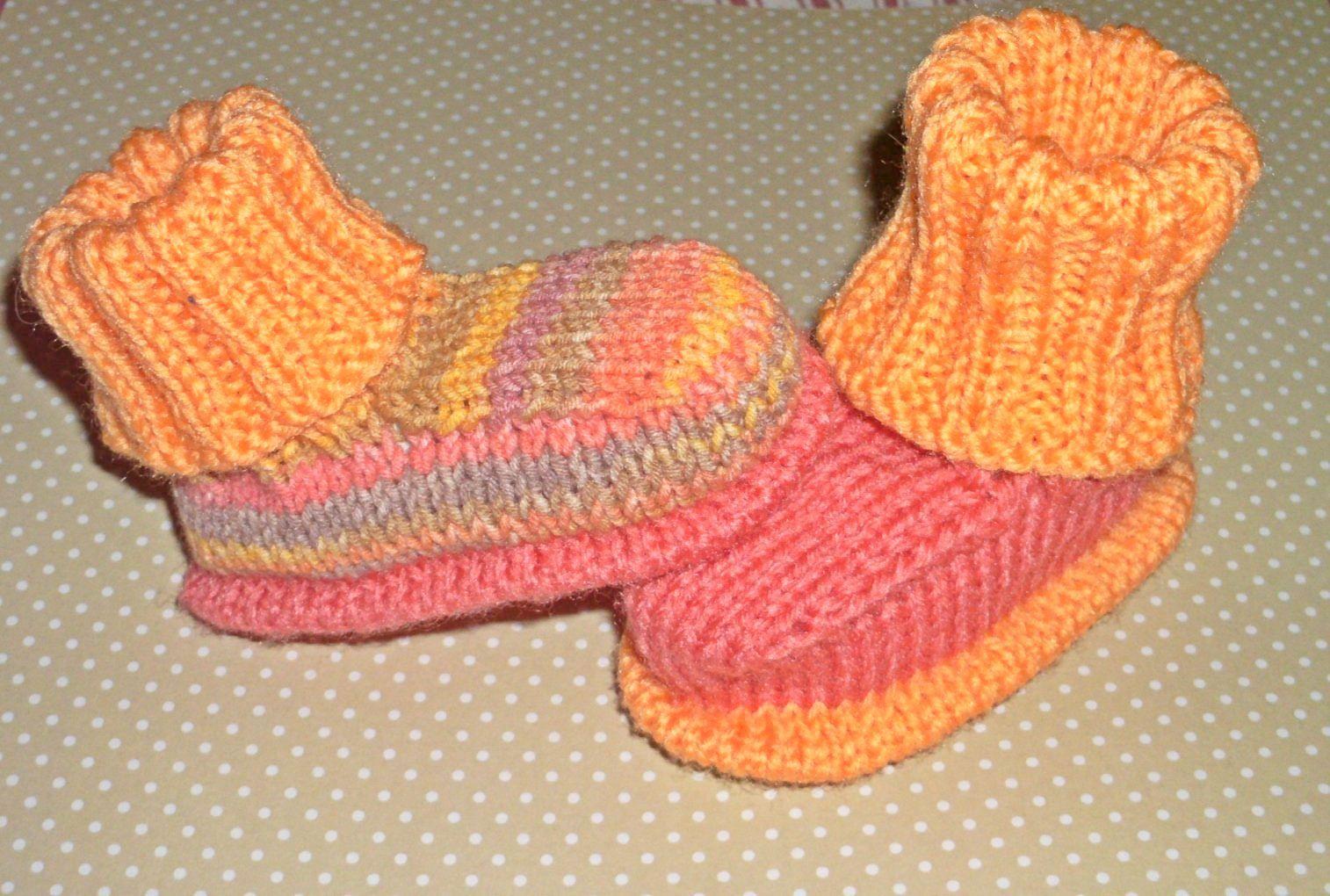 Photo of Strickschühchen #crochetbabycardigan Die Schühchen auf dem Video hier oben hab…