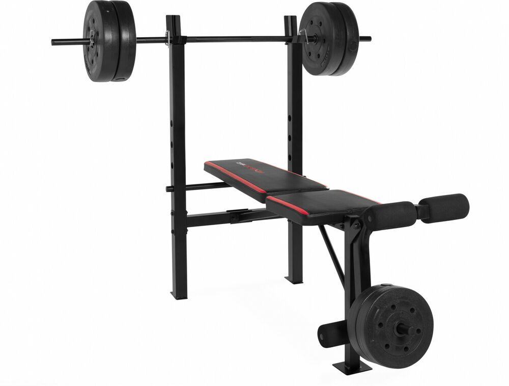Ad Ebay Weight Bench Set W 100 Lb Of Weights Bar Collars Combo Bench Exercise Workout Weight Bench Set Bench Workout Adjustable Weight Bench