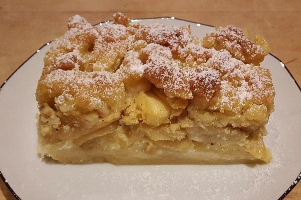 Apfelrahmkuchen vom Blech von Jo2000 | Chefkoch