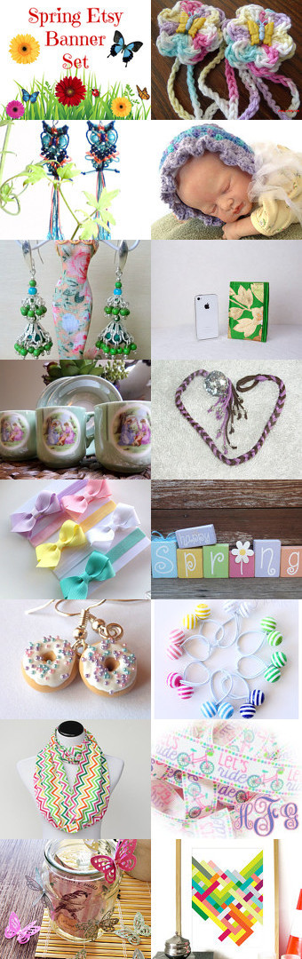 Whispers of Spring! Colorful Spring gift ideas (5) by Kathy Carroll on Etsy--Pinned with TreasuryPin.com #Etsyvintage #Estyhandmade #springgift