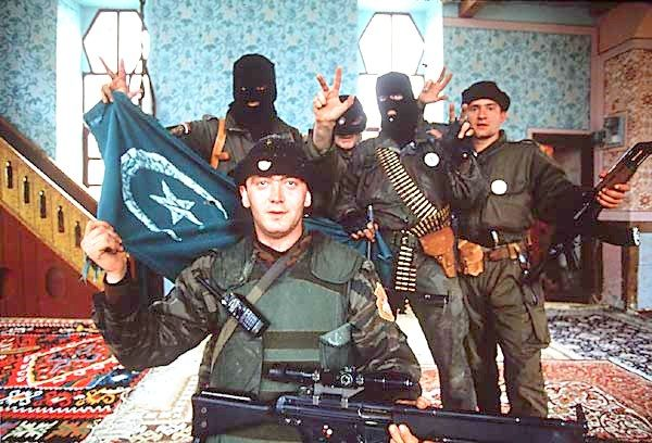 Serb paramilitary take over mosque in bosnia 1992
