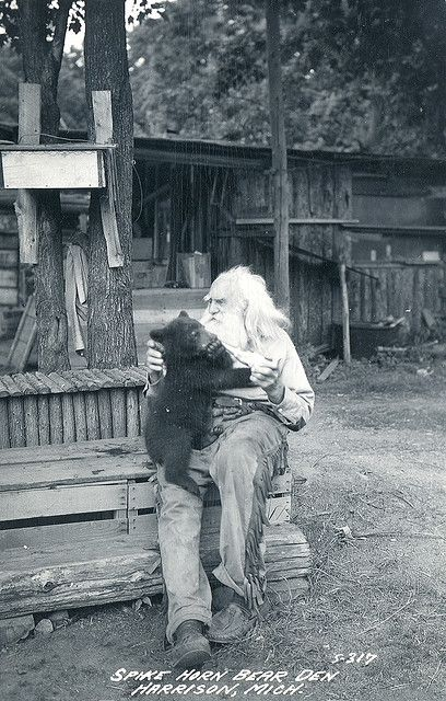 Real Grizzly Adams - I didn't know that it was based on a real guy