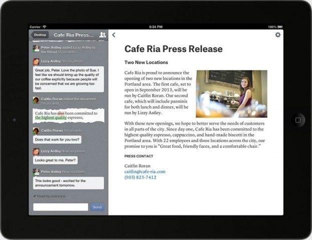 Una aplicación para crear y editar textos sin estar conectado a Internet | Clases de Periodismo