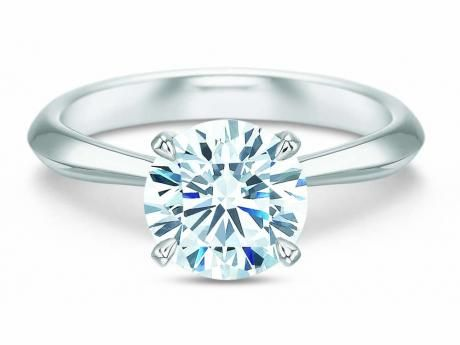 Precision Set Classic Solitaire Ring - Precision Set Classic Solitaire
