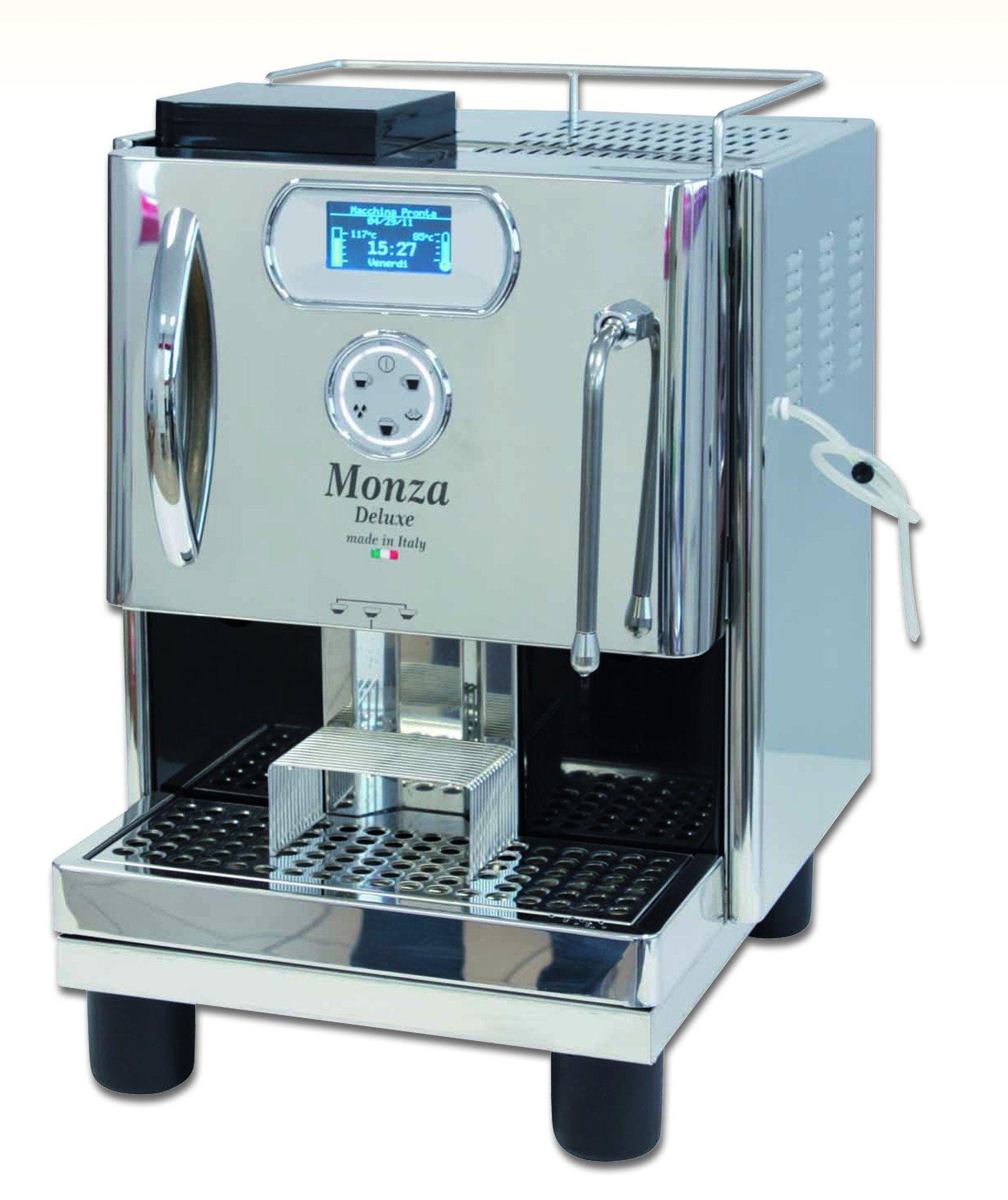 QuickMill Model 05010 Monza de Luxe Cafetera y Restaurantes