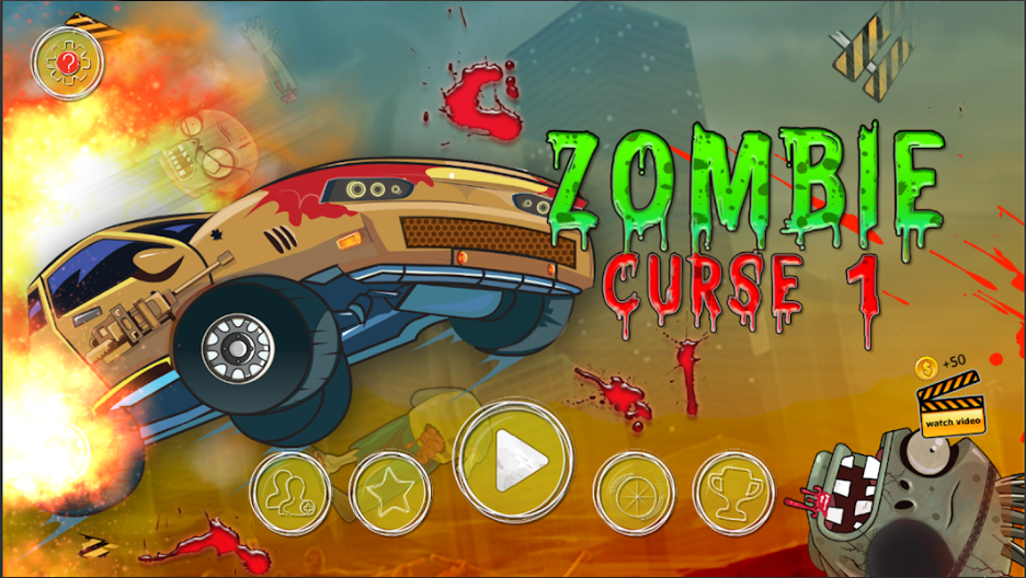 Zombie Curse Free Online Game New zombie, Survival games