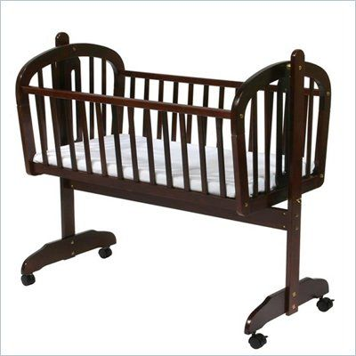 DaVinci Futura Wood Baby Cradle in Cherry M0413CP