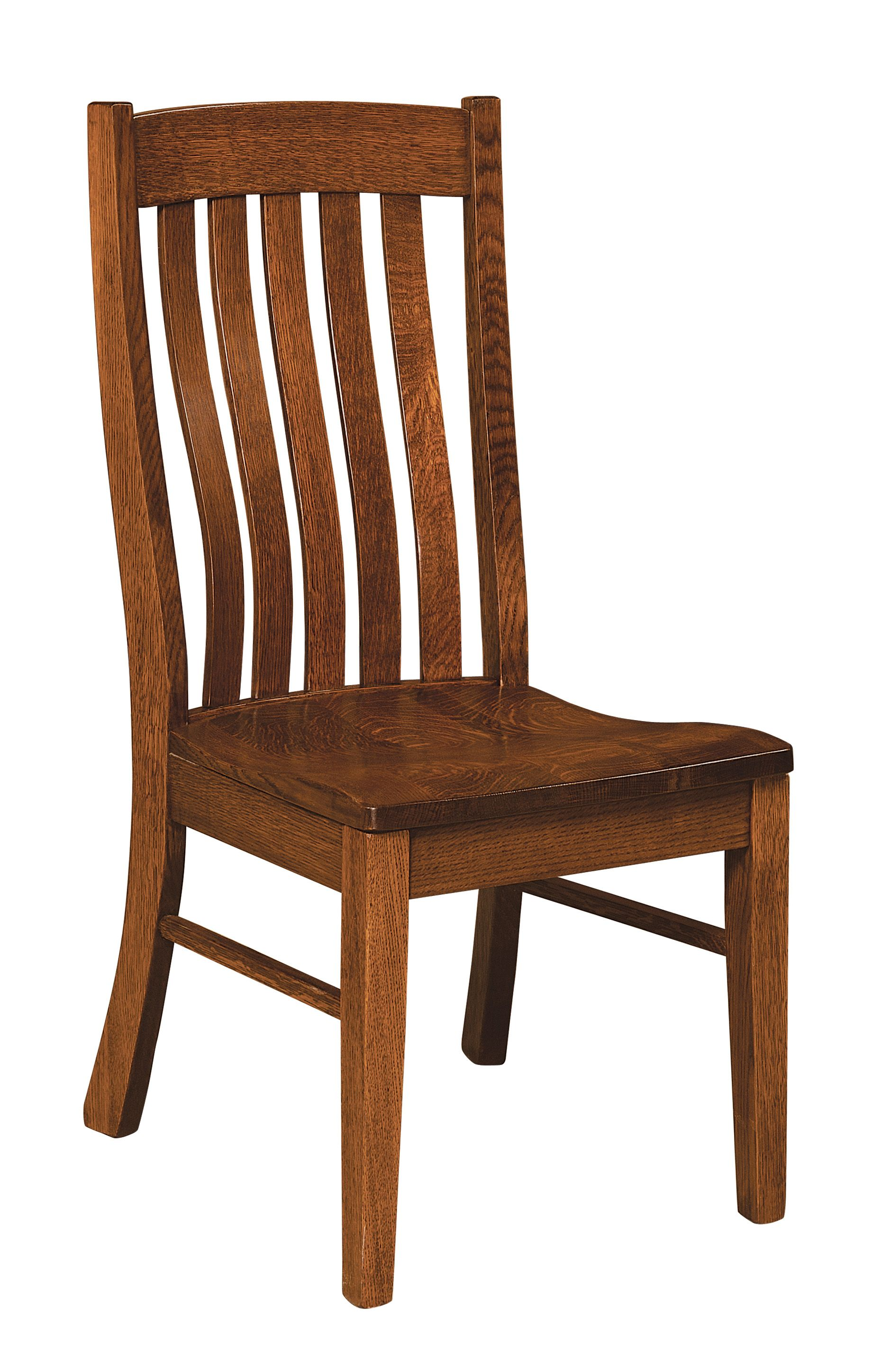 Wooden Dining Room Chairs Amish Oak In Texas With Images