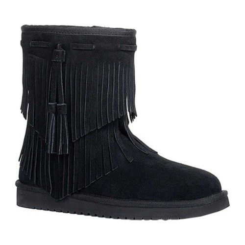d85646202b2 Koolaburra by UGG Cable Fringe Bootie   Products   Uggs, Winter ...