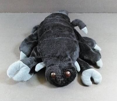 "Black SCORPION Plush Glove HAND PUPPET Caltoy 15"" Stuffed Animal Toy B273"