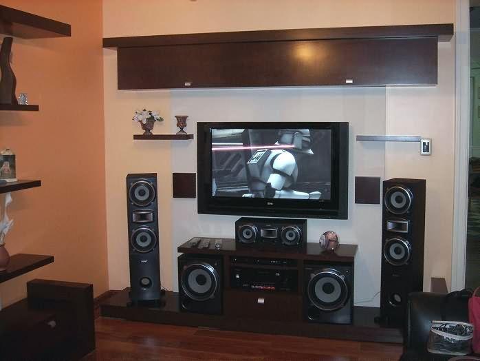 decoracion de equipos de sonido audio y video buscar con On muebles para tv led y equipo de sonido