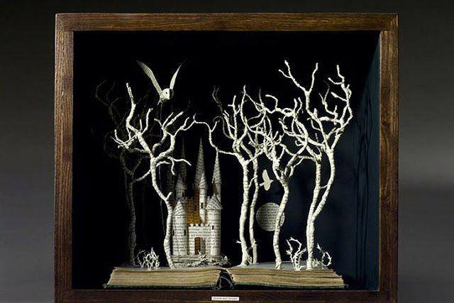 ALLPE Medio Ambiente Blog Medioambiente.org : Los mágicos libros en de tres dimensiones de Su Blackwell
