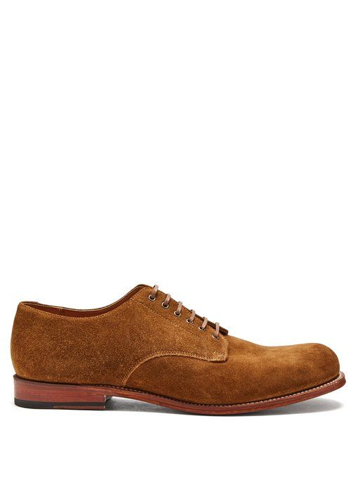 Leo suede derby shoes Grenson wjNhqcLe