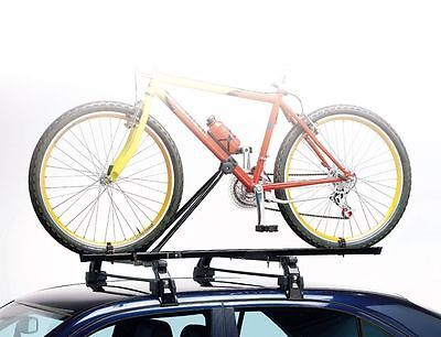 CAR ROOF MOUNTED UPRIGHT BICYCLE RACK BIKE CYCLE CARRIER FOR AUDI A3 A4 A5 Q5 Q7