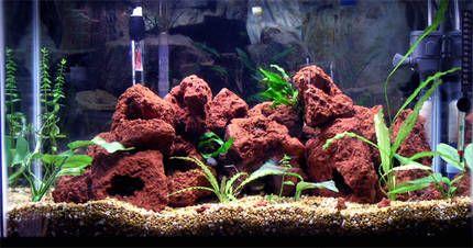 lava rock aquarium pinterest aquarium cichlids and lava