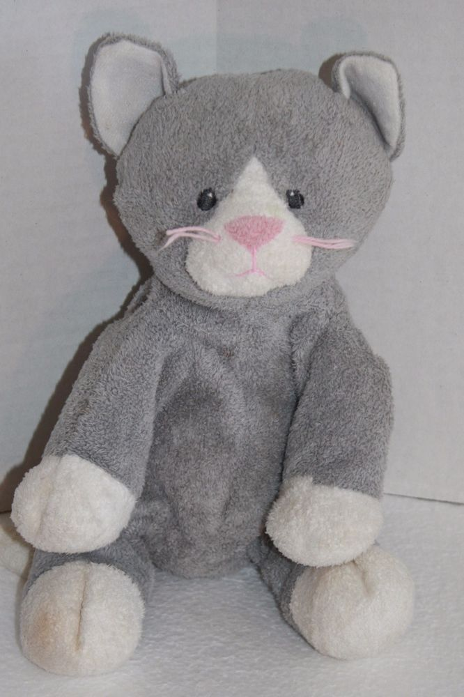 42c4e364986 TY Pluffies PURSLEY Gray