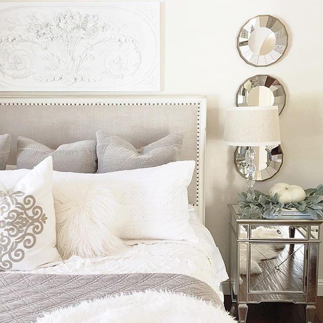 Elegant White Master Bedrooms: Dreamy Nights Are Made Of Fabulous Bedding! White, Elegant