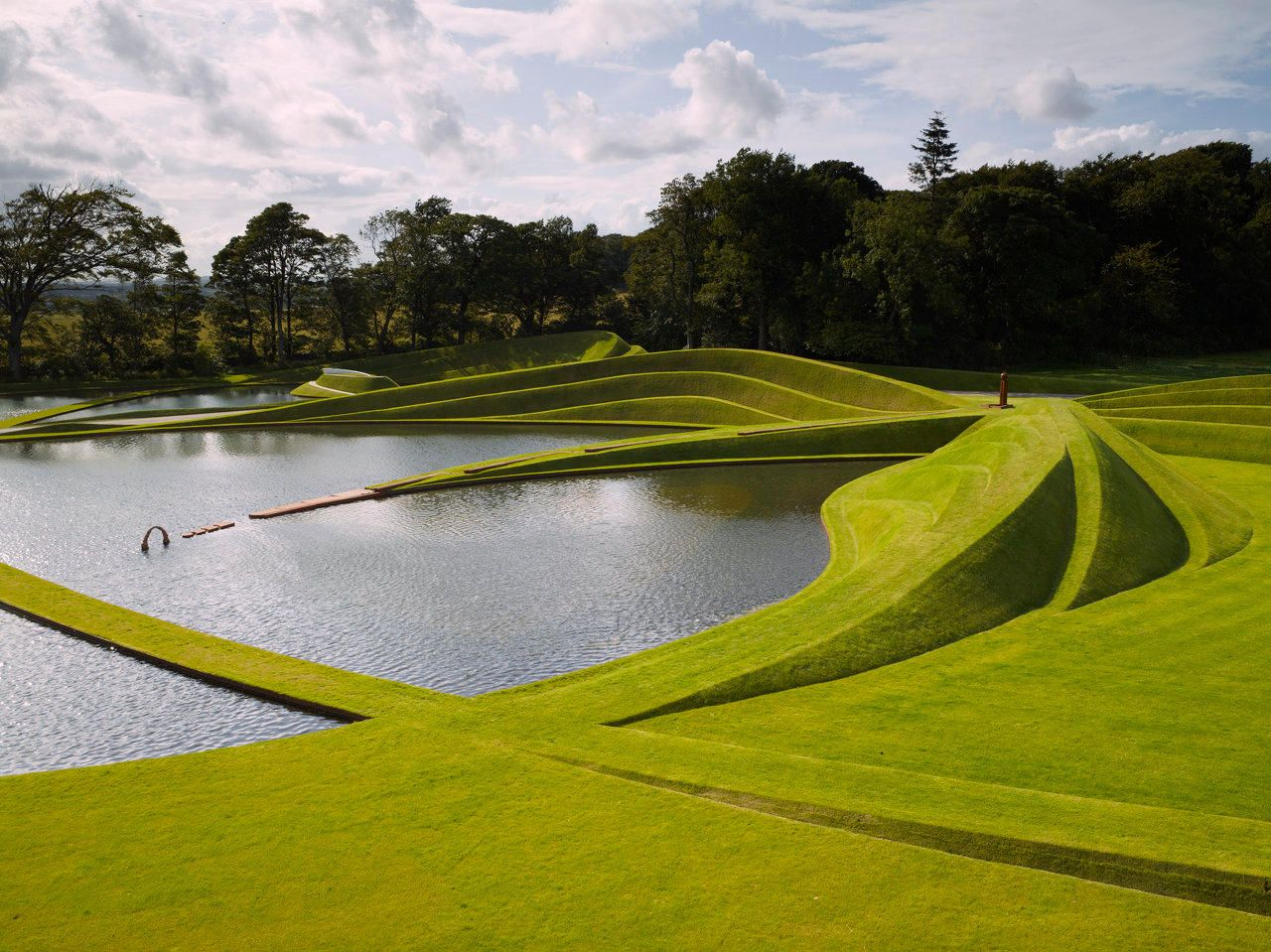 Charles Jencks Landform Ueda Gallery of Modern Art Edinburgh