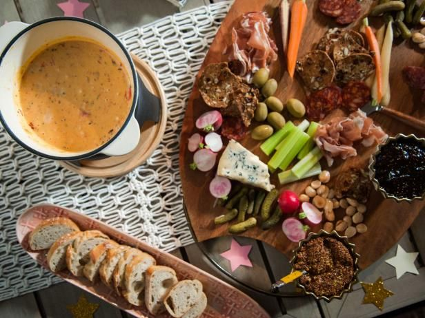 Charcuterie and Cheese Fondue