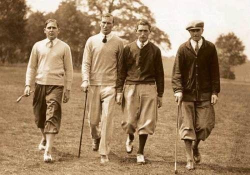 Vintage Golf Clothing for Men