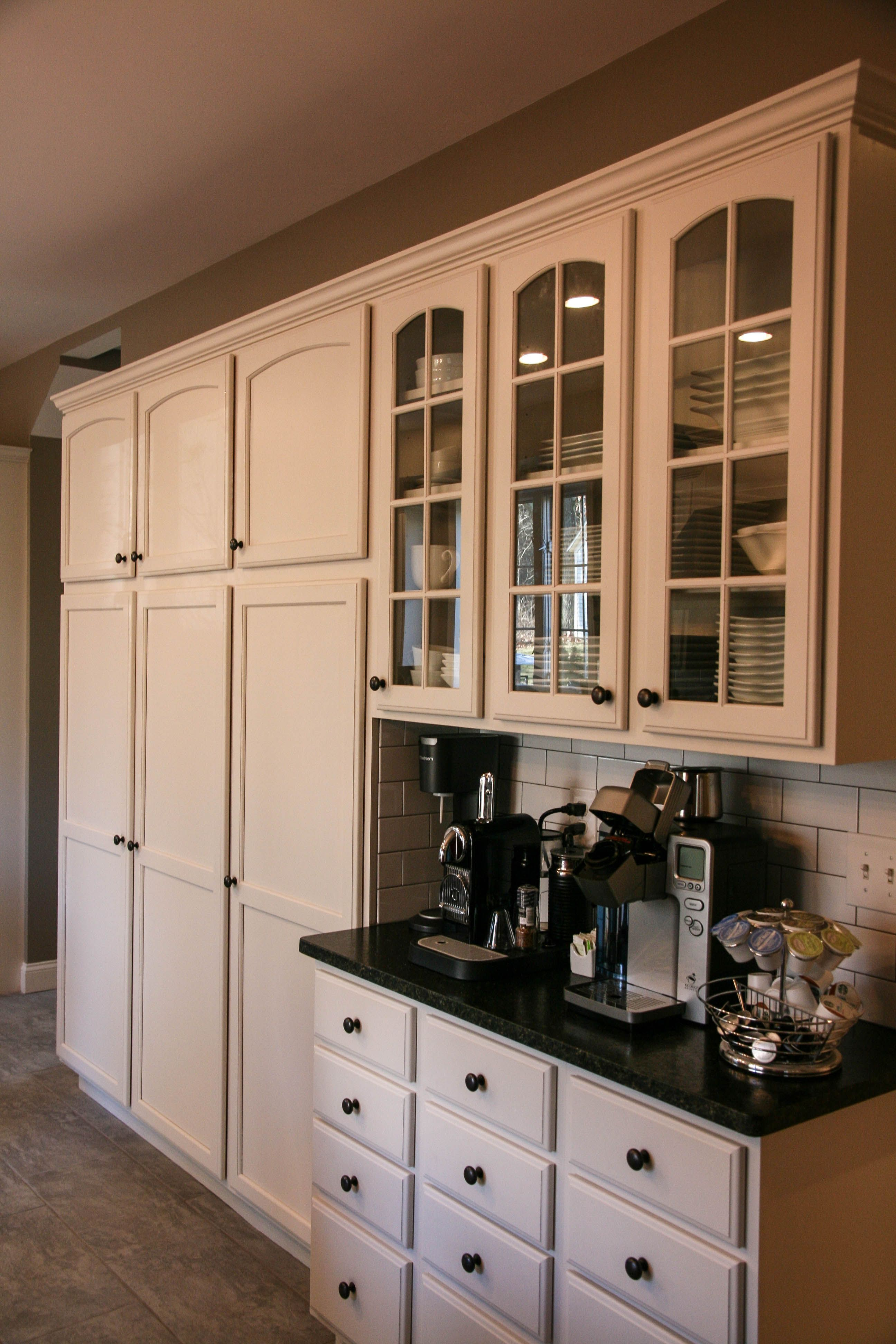 coffee bar and pantry storage kitchen design pinterest pantry storage pantry and storage. Black Bedroom Furniture Sets. Home Design Ideas