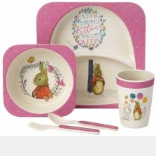 Flopsy Organic Dinner Set Melamine Dinner Set Dinner