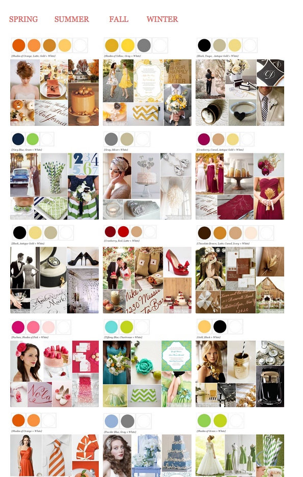 How To Choose The Perfect Wedding Colors By Revival