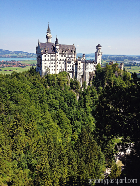 Day Trip Ideas From Stuttgart Neuschwanstein Hohenschwangau Castles By Shannon Elizabeth From Grabmypassport Travel Around The World Romantic Road Travel