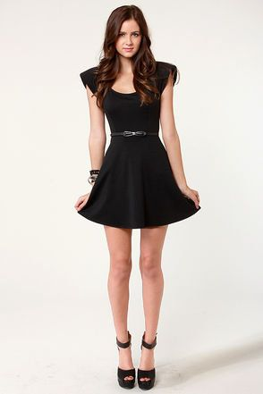 Juniors Little Black Dresses Black Cocktail Casual Dresses