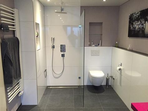 Kleines Badezimmer Mit Walk In Dusche