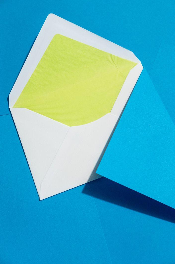 Hullen Mit Farbfutter Papier Farben Kuvert