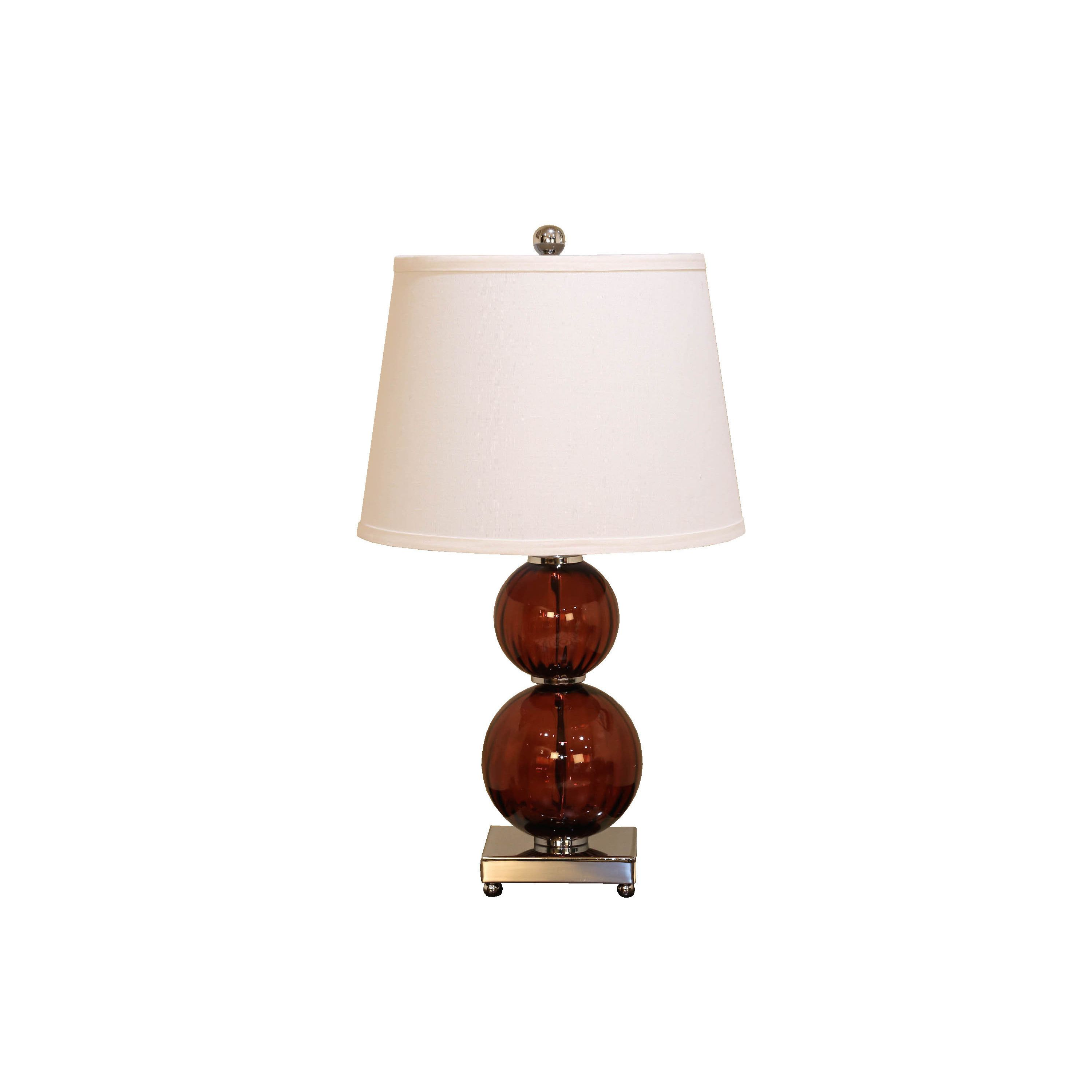 Somette bombay maroon fluted double round table lamp family room somette bombay maroon fluted double round table lamp geotapseo Images