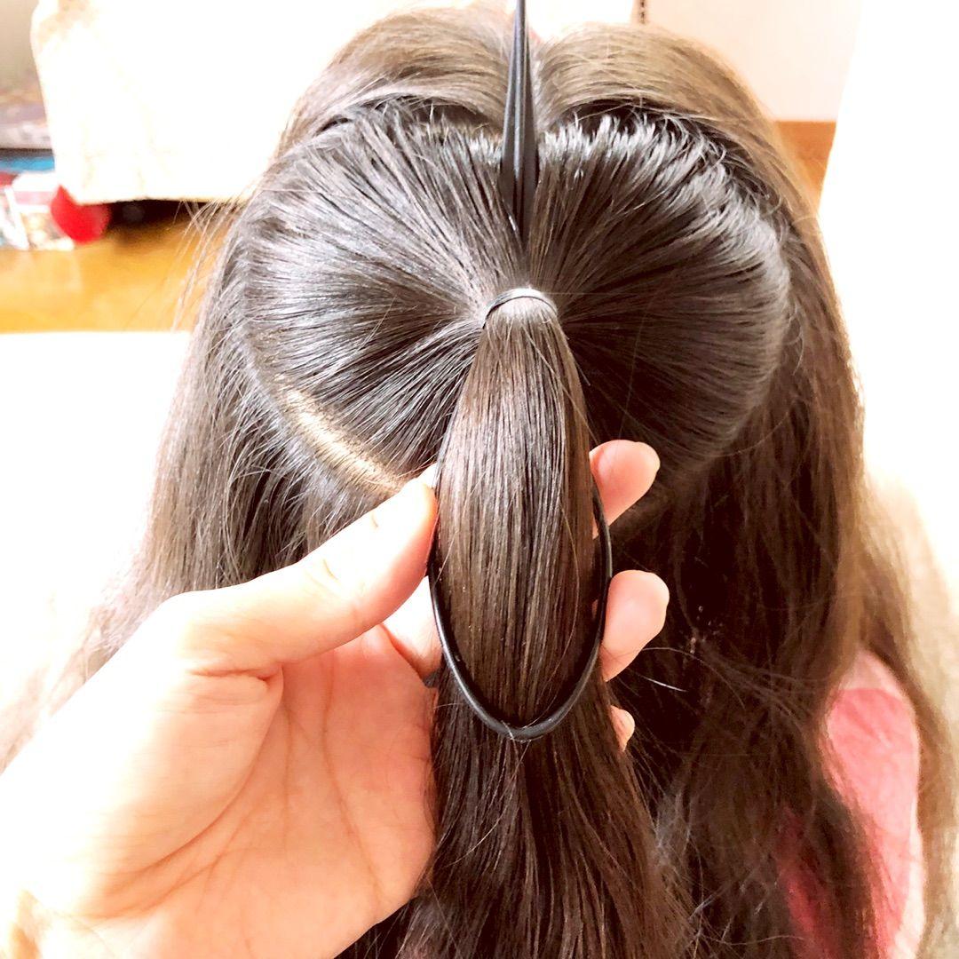 Maira 時間がないときのハートヘアアレンジ ライブ ヘア 5分