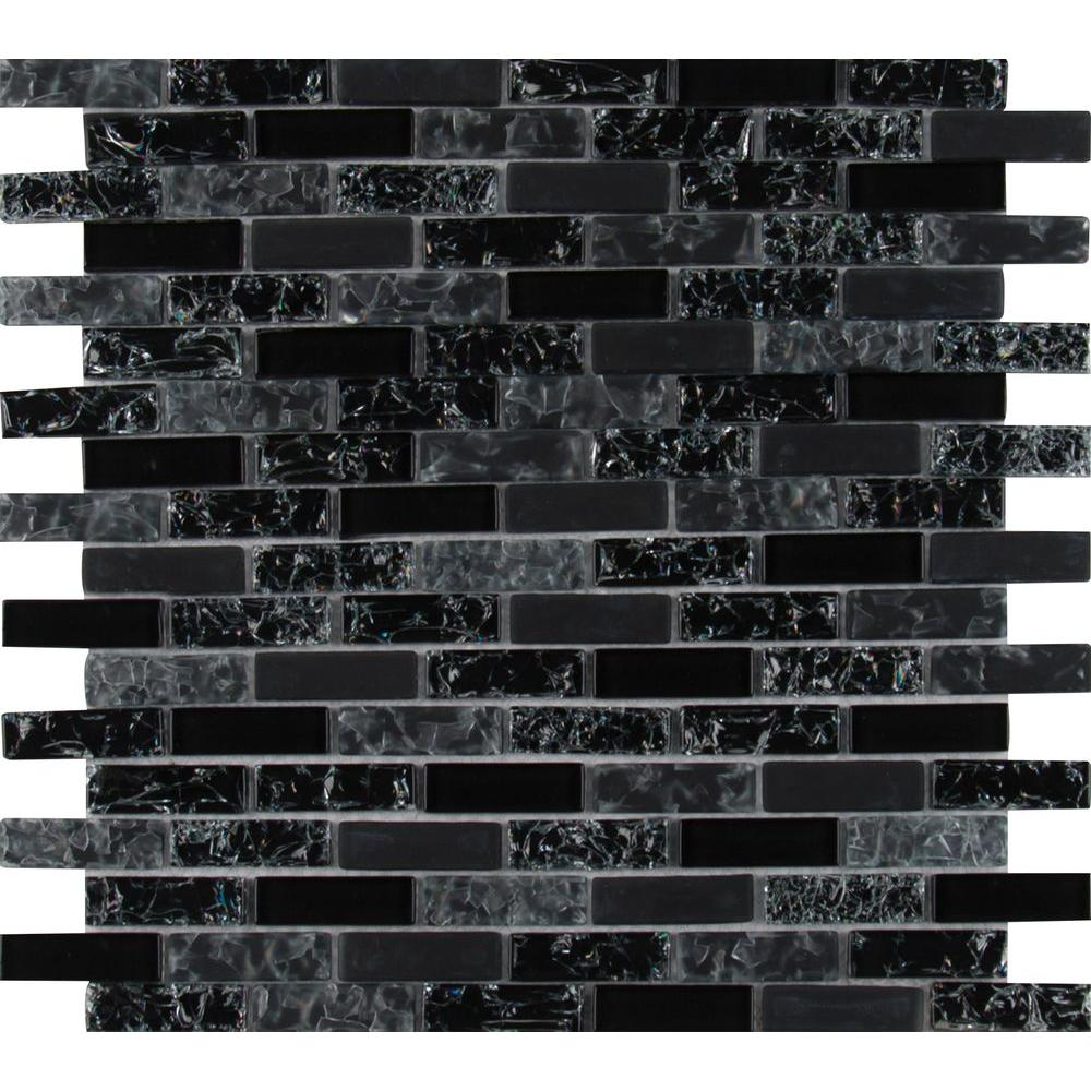 - MSI Glissen 12 In. X 12 In. X 6mm Glass Mesh-Mounted Mosaic Tile