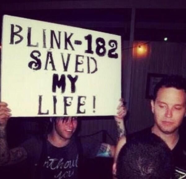 Blink 182 Saved Pete Wentz S Life Then Mark Is Just Standing