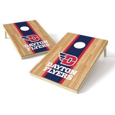 new products 000d9 f863e Tailgate Toss NCAA Hardwood Cornhole Game Set NCAA Team  Dayton Flyers