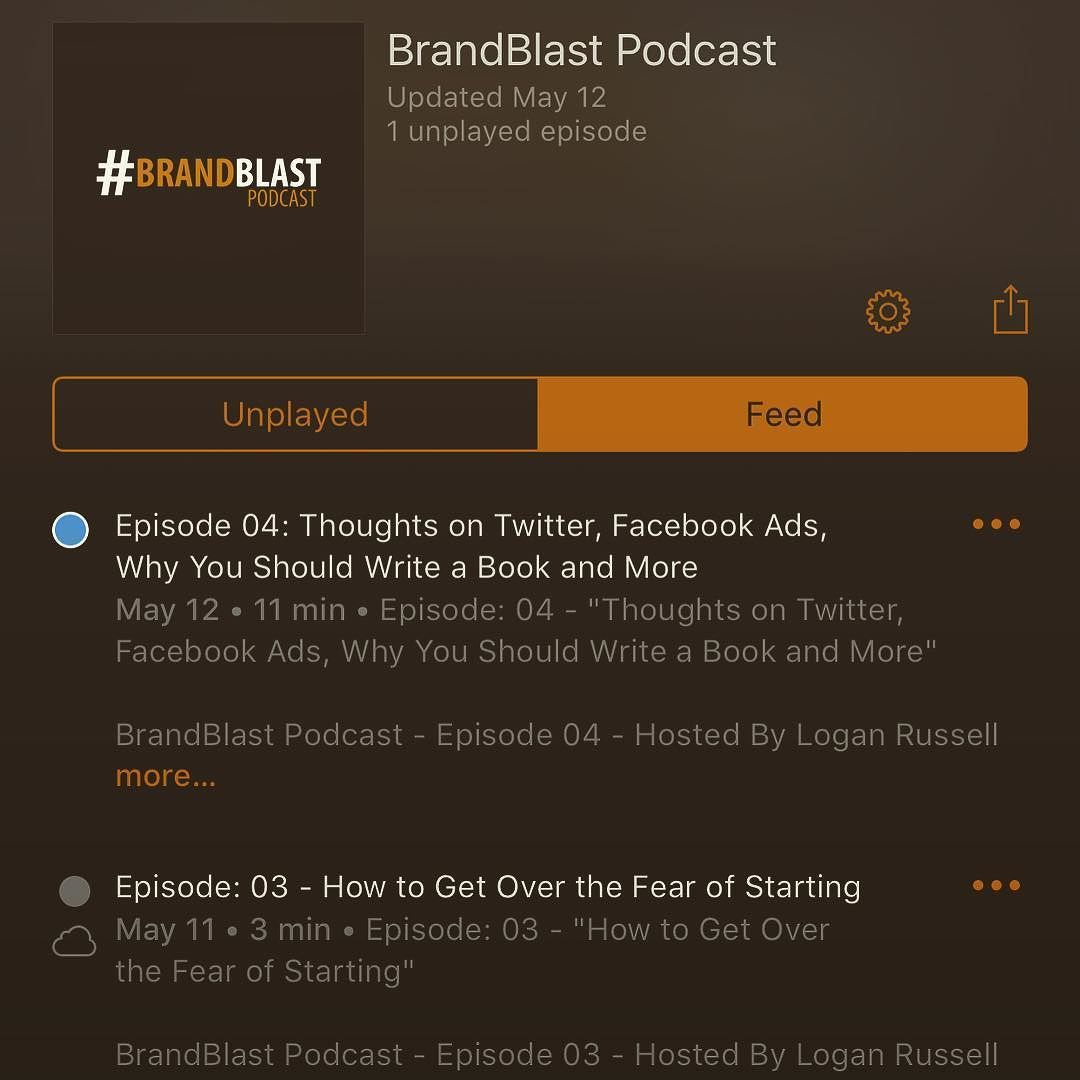 The #BrandBlastPodcast is available on @iTunes - for all your #business and #entrepreneur info - check it out!