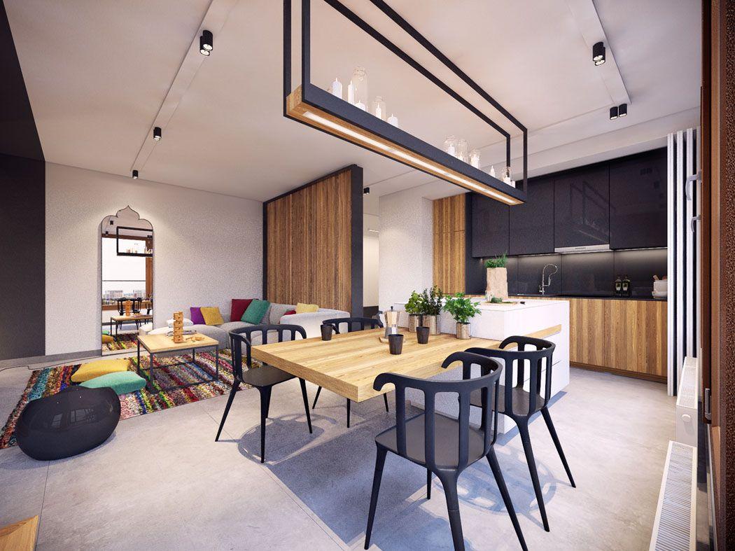 aménagement salon minimaliste rangements - Ecosia