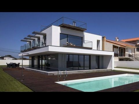 Planos de casa moderna de tres dormitorios youtube for Planos de casas youtube